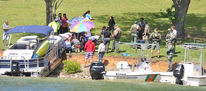 Boating mishaps occur over weekend