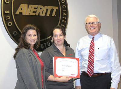 Sevier honored for 25 years of service
