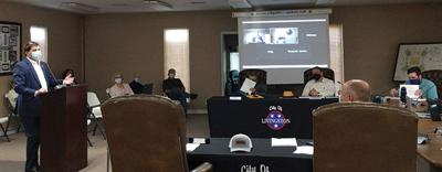 City Council meeting held Monday