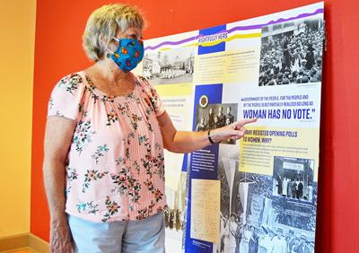Suffrage exhibit opens in Cookeville