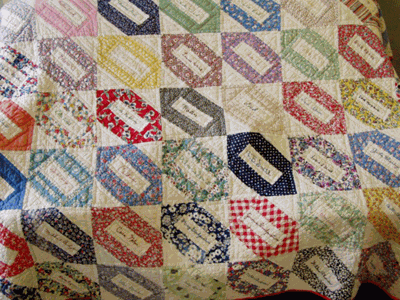 Stories From the Past - A Friendship Quilt