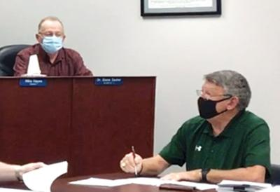 School Board takes time out for meeting with attorney