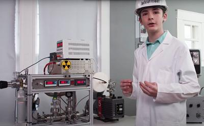 Reactor made by 12 year-old