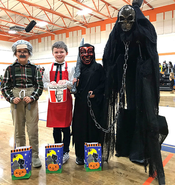 Hilham students compete for best costume