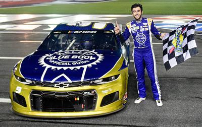 Fortune finally favors Chase Elliott in win at Charlotte