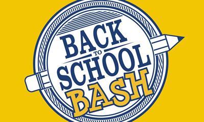 Back to School Bash set for Monday, Aug. 2