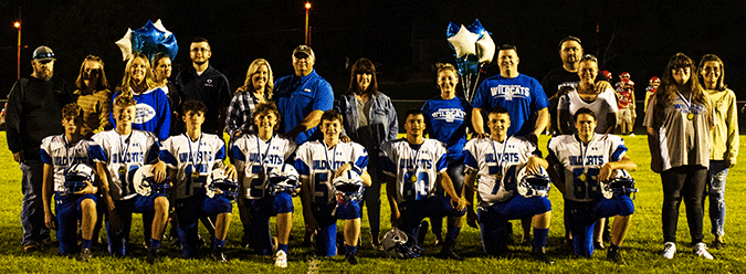 Jr. Wildcats hold 8th Grade Night