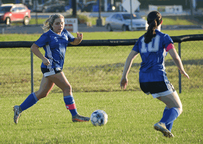 LA Soccer plays DeKalb and Smith County