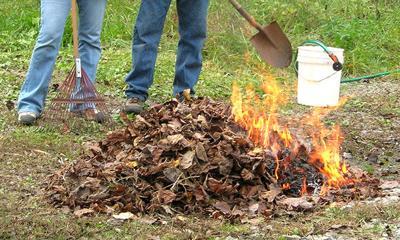 Debris burn permits required October 15