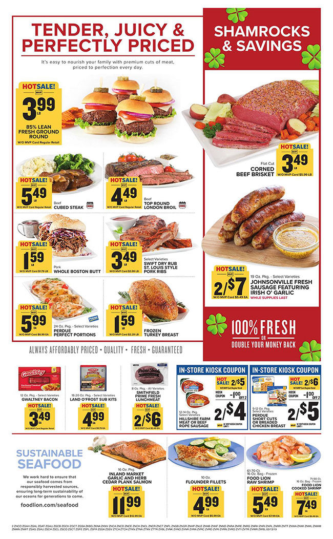 Food Lion Ad Week Of 3-12-19 | | overtoncountynews com
