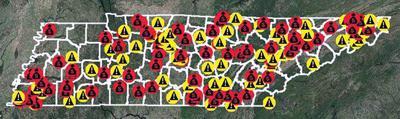 Map tracks fraud investigations