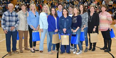 Lady Cats' first champs honored