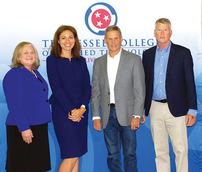 Gov. Lee visits Livingston TCAT