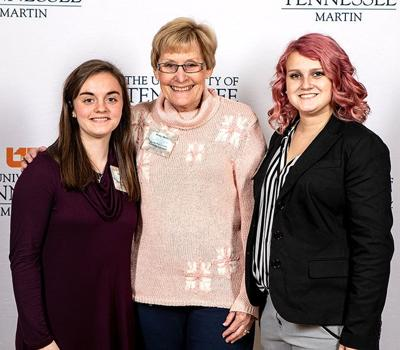 Gean meets with UT Martin scholarship supporter