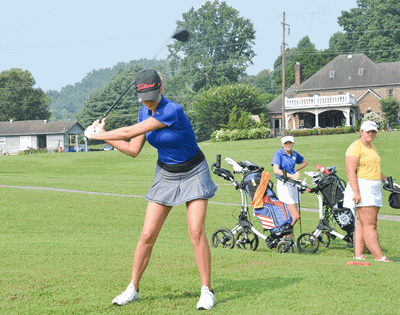 Livingston Academy Golf plays at McMinnville