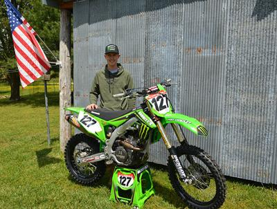 Jordan Ashburn riding to the top in cross country motorcycle racing