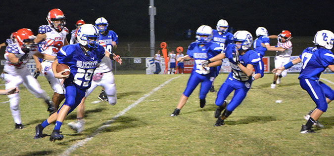 Jr. Wildcats play close game against Avery Trace