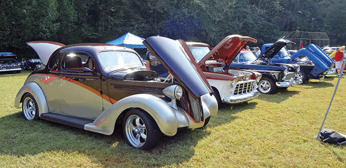 Standing Stone holds 23rd annual car show