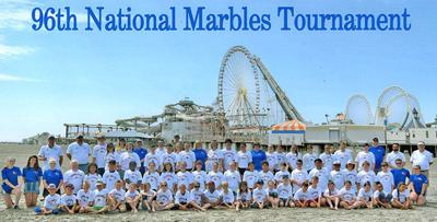 Local kids participate in marble tournament