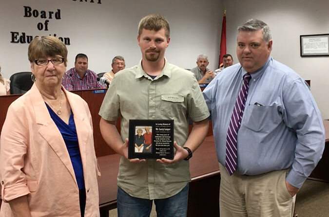 Late School Board members given special recognition