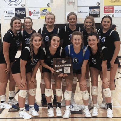 Congratulations Livingston Academy Lady Wildcats Volleyball Team District Tournament Runner-Up