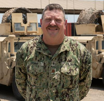 James Storie deployed to Horn of Africa