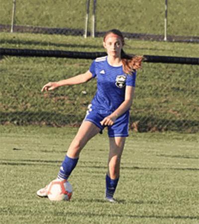 Jr. Lady Cats take first soccer loss of season