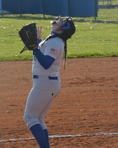 Sabrina Garrett pitches no-hitter for Lady Cats