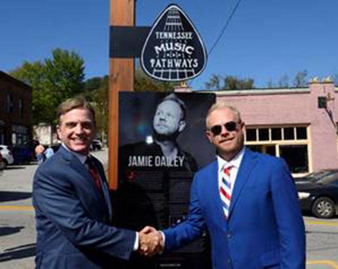 Gainesboro marker  honors Jamie Dailey