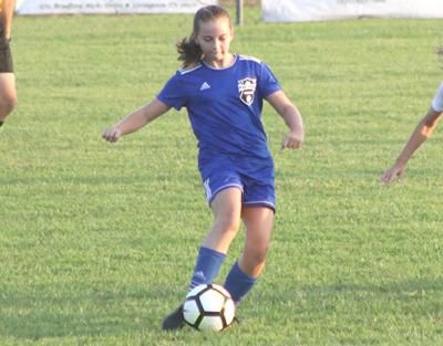 Jr. Lady Cats win soccer opener