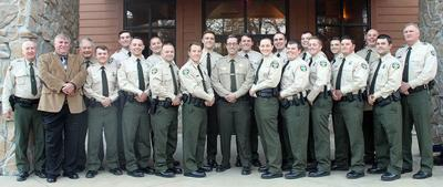 New wildlife officers commissioned