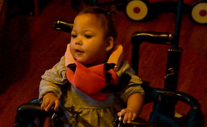 Mechanical engineering students help infant with cerebral palsy