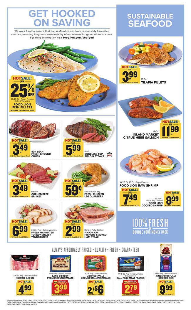 Food Lion Ad Week Of 03-06-19 | | overtoncountynews com