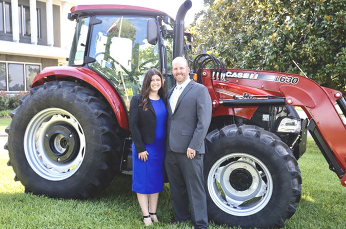 Clay County couple receive Young Farmer honor