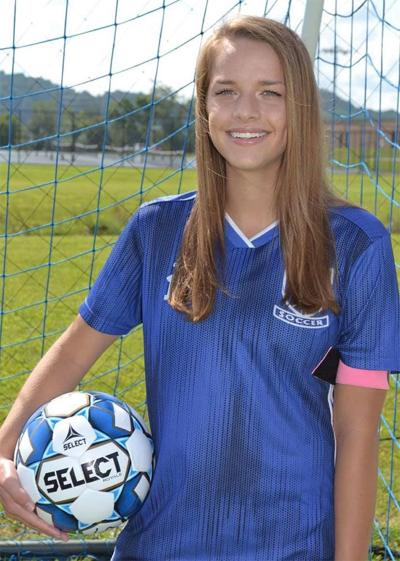 Kaitlyn Huntley named to All-State Soccer Team
