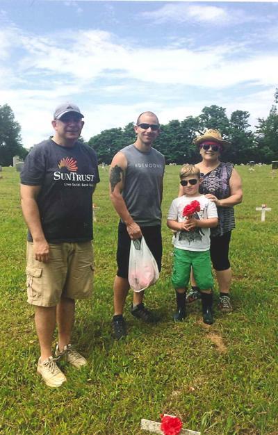 Thrasher offers thanks to the DeSantis family