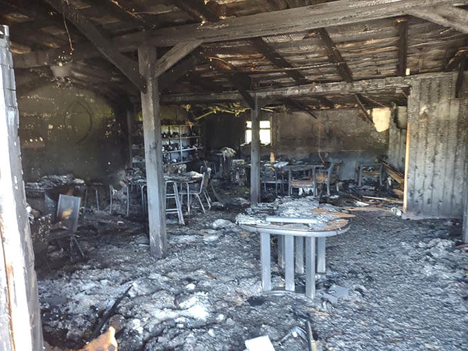 Old Crossroads Market & Eatery destroyed by fire