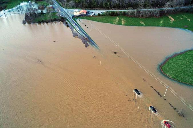 Heavy rains flood OC