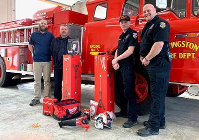 UCEMCCares grant awarded to Livingston Fire Department