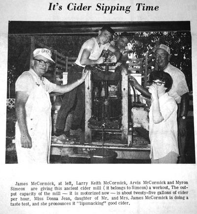 50 years ago  in Overton County News September 4, 1969