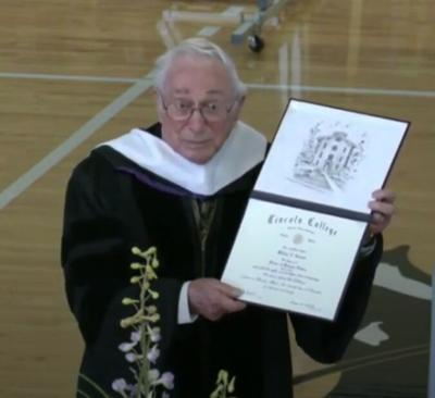Degree earned at 97 years-old
