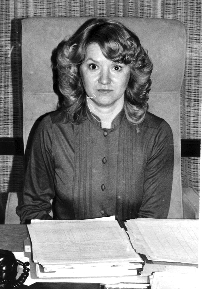 Reba Maynard 55 years of dedicated service & still going strong