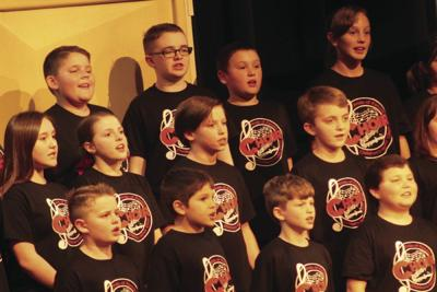 Pride of Panola Children's Honor Choir debut held Tuesday