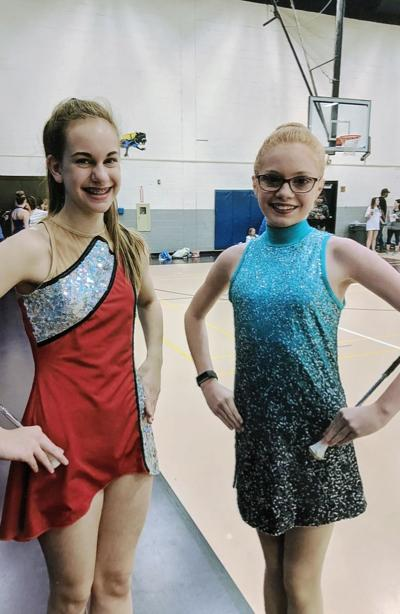 Carthage twirlers participate at SFA-hosted competition