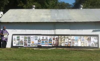 Cook's Quarters outdoor museum gets new billboards