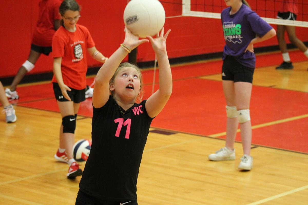 Carthage volleyball camp