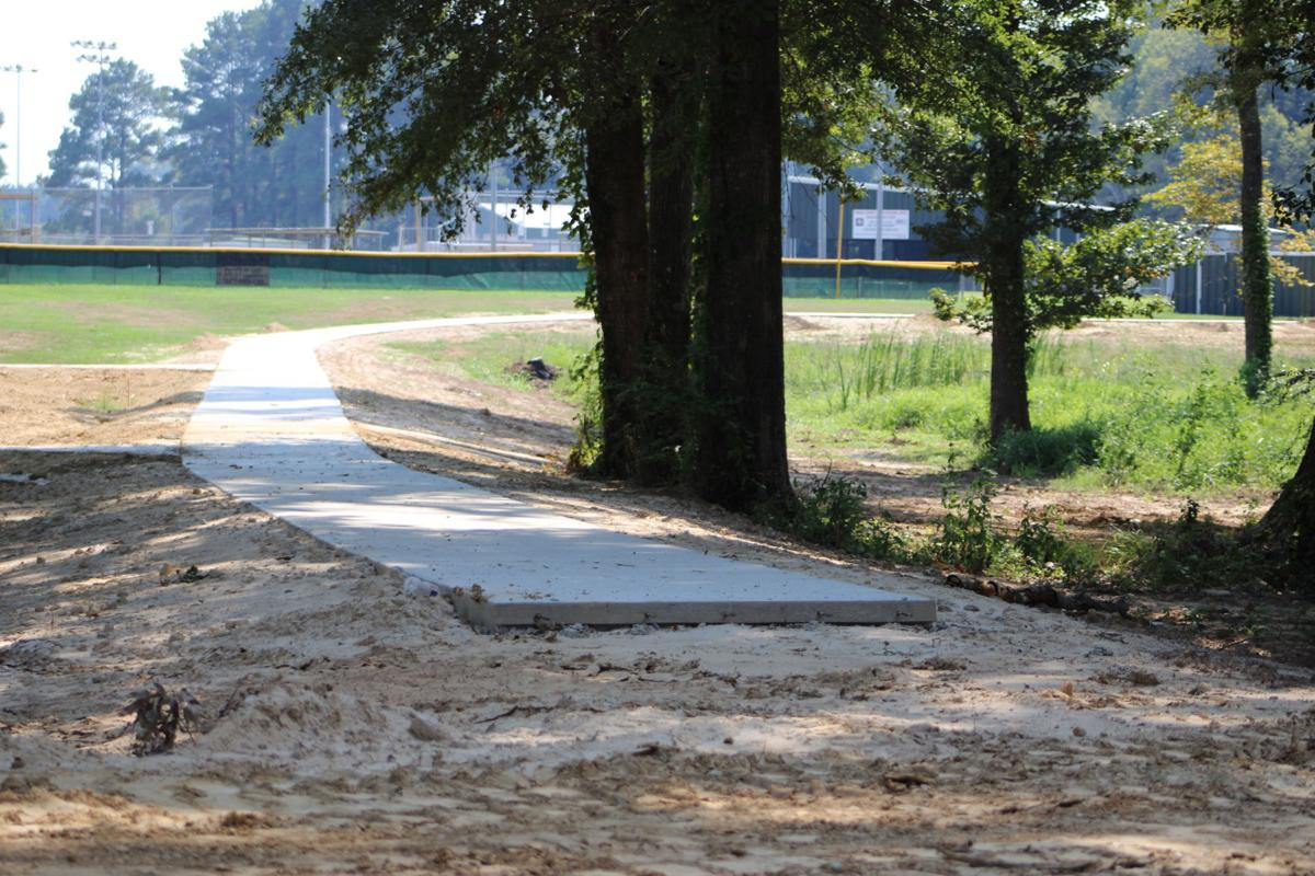Carthage walking trail expected to be finished this month