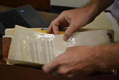 Railroad Commission undertakes massive records preservation project