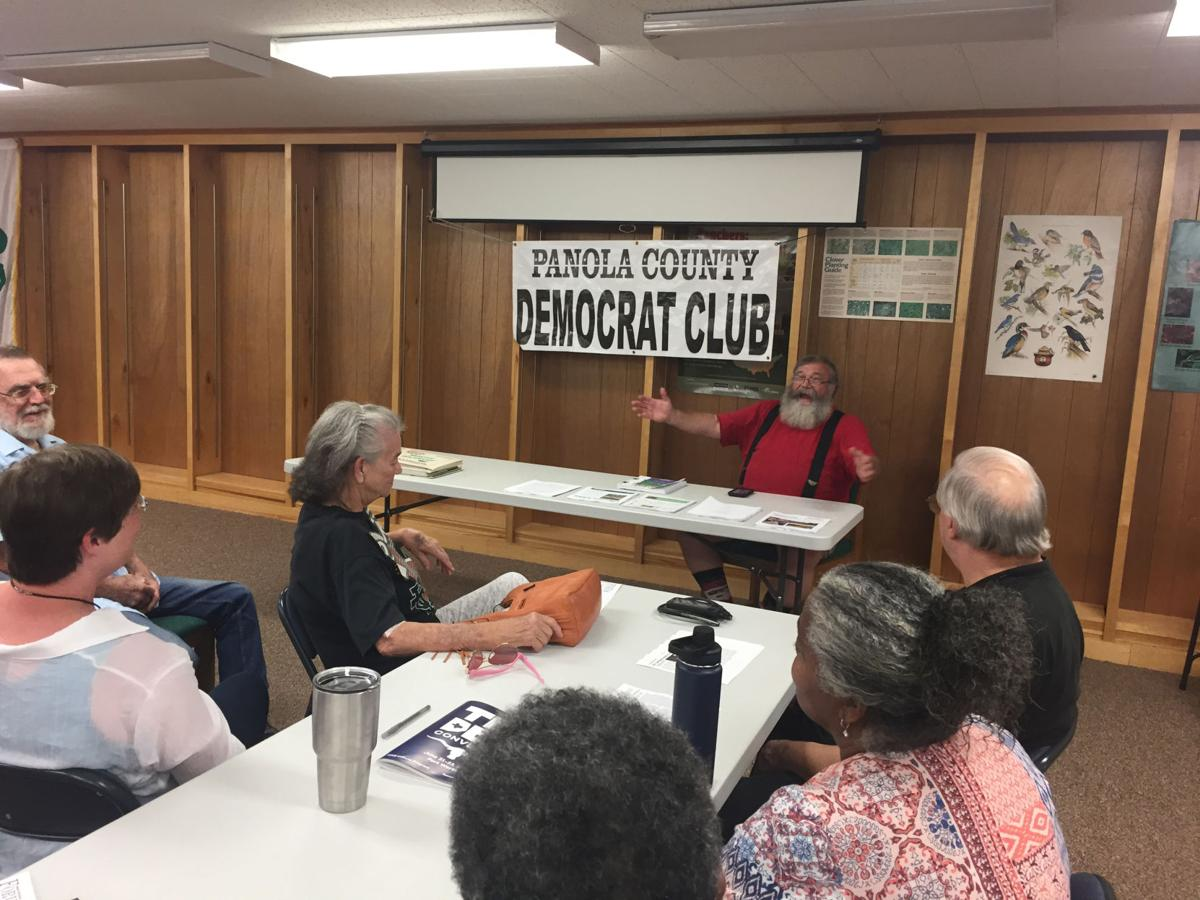 Doug Buchan speaks at Panola County Democrat meeting | News ...