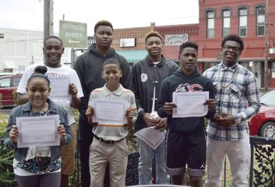MLK oratorical contest held on the square (copy)